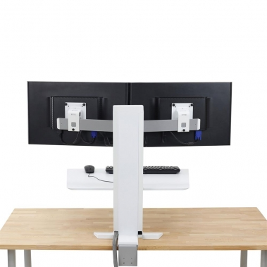 WorkFit-SR Dual Monitor, Sit-Stand