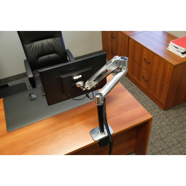 LX Sit-Stand Desk Mount LCD Arm