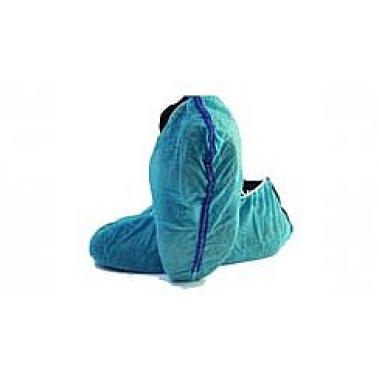 כיסוי נעל פוליפרופילן כחול+רצועת הארקה