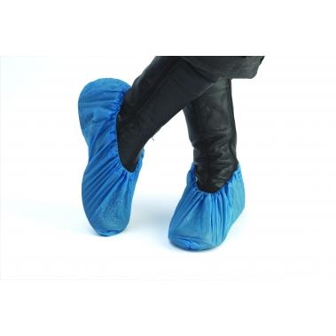 כיסוי נעל CPE פוליאתילן כחול 4.2 גרם